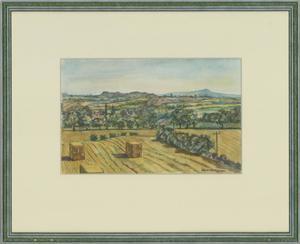 Edward Morgan (1933-2009) - 20th Century Watercolour, Titterstone View