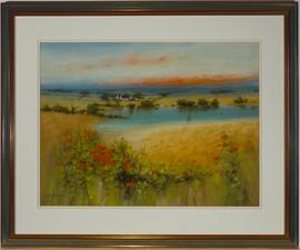 George Craig Spence (b. 1931) - Signed & Framed 1998 Oil, Landscape Study