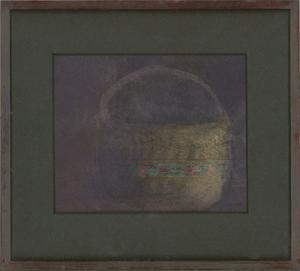 Michael McGuinness RWS - Framed 2003 Watercolour, The Basket