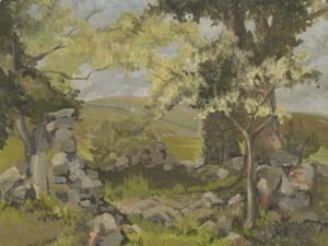 Marjorie Lister - 20th Century Oil, The Old Ruin