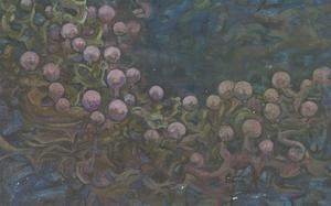 Margaret O. Hole (1919-2012) - Contemporary Oil, Seaweed Study