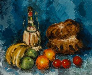 Henry E. Foster (1921-2010) - 20th Century Oil, Impressionist Still Life Study