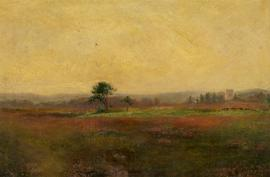G. Stevenson - Late 19th Century Oil, Landscape View with Tree