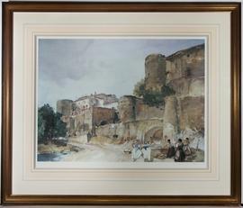 William Russell Flint (1880-1969) - Digital Print, Gossipers at Le Castellet