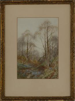 Walter Duncan (1848-1932) - Early 20th Century Watercolour, Autumn Forest View