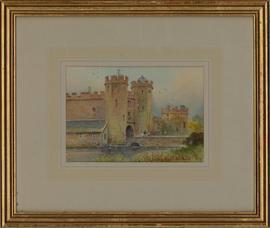 William Bradley-Carter - Mid 20th Century Watercolour, Maxstoke Castle