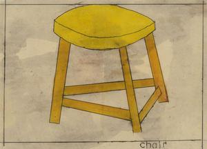 Ben Carrivick - Contemporary Oil, Chair