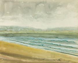 Irene Bache (1901-1999) - Signed 20th Century Mixed Media, Landscape