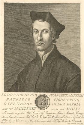Allegrini after Zocchi - 1763 Engraving, Francesco Martelli