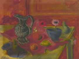 Anthony Brown (1906-1987) - Double Sided 1948 Oil, Still Life and Forest Storm
