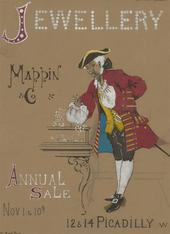 Stanley Ashton - Early 20th Century Gouache, Poster Design for Mappin & Co.