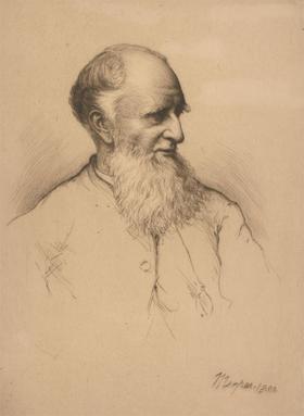 Mortimer Luddington Menpes (1855-1938) - 1880 Etching, Bishop Jenner