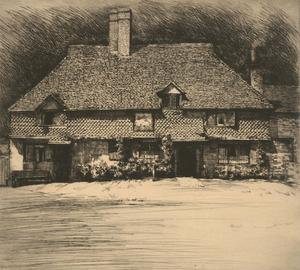 Mortimer Luddington Menpes (1855-1938) - 19th Century Etching, White Hart Inn