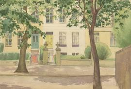 W.E. Dimmock - Signed Mid 20th Century Watercolour, Holland Park (Bayswater Rd)