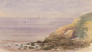 Margaret Forde Hancock - A Pair of 1883 Watercolours, At Clevedon