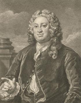 William Hogarth (1697-1764) - 1822 Engraving, Portrait of Martin Folkes