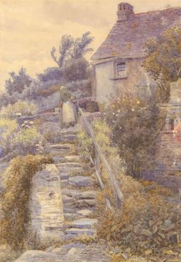 A. Quinlon - Early 20th Century Watercolour, Countryside Living
