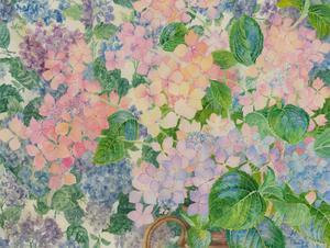 John Ivor Stewart PPPS (1936-2018) - Watercolour, Delicate Floral Composition