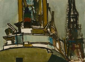 Arthur Freeman (1927-1992) - 20th Century Watercolour, Erika Schulte