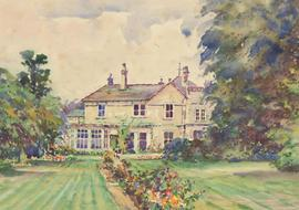 Henry E. Foster (1921-2010) - 20th Century Watercolour, The Hermitage