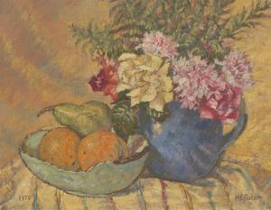 Henry E. Foster (1921-2010) - 1970 Oil, Still Life Painting